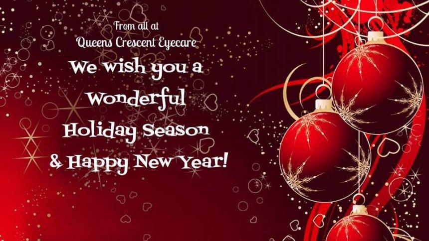we wish you a wonderful holiday season
