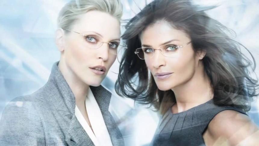 Women wearing Sillouette Eyewear