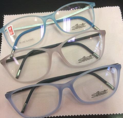 three grey frames